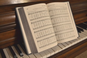 A Mother's Thoughts During a Congregational Hymn