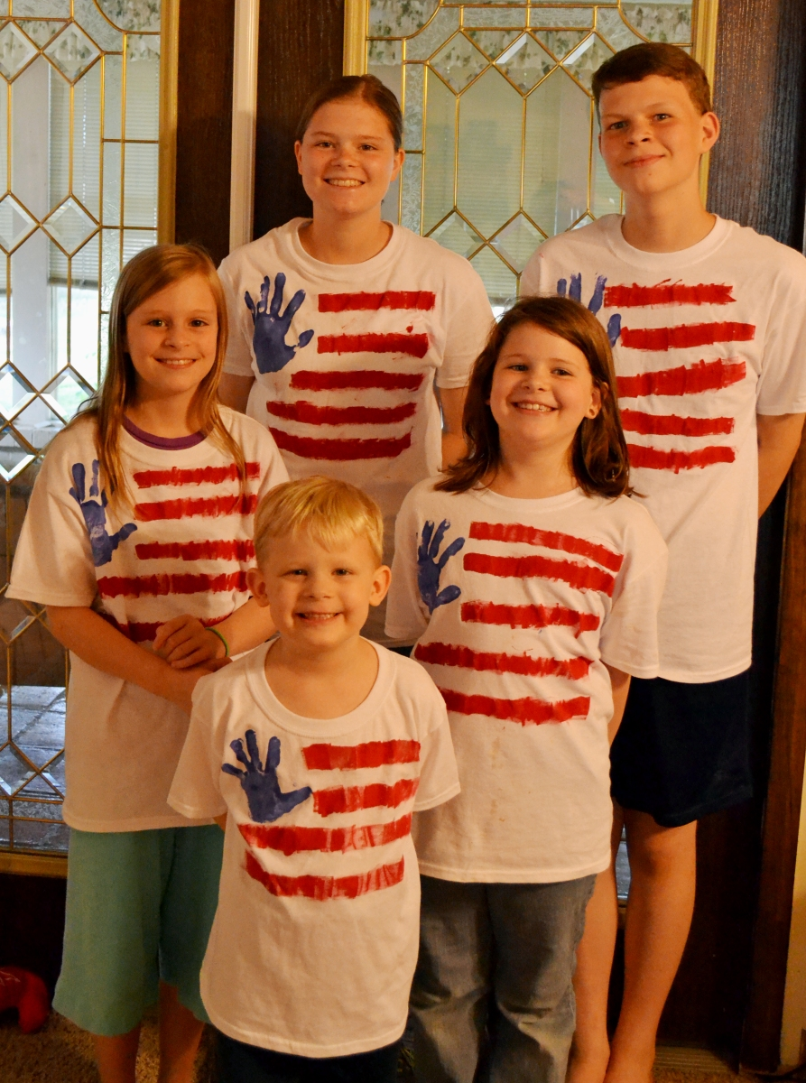 Red, White and Blue T-Shirts